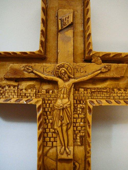 他の写真1: 【送料無料】(ギリシャ雑貨)絵で描かれた聖書・イコン(十字架・クロス)【ギリシャ正教の聖地アトス山】