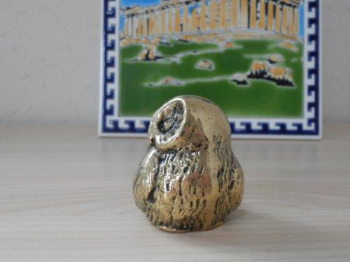 他の写真1: 【お客様の声あり♪】【ギリシャ神話】(ギリシャ雑貨)ふっくらふくろうの置物【知恵の象徴ふくろう】