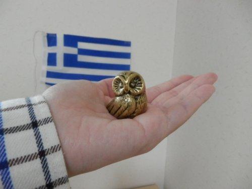 他の写真3: 【お客様の声あり♪】【ギリシャ神話】(ギリシャ雑貨)ふっくらふくろうの置物【知恵の象徴ふくろう】