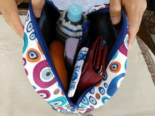 他の写真2: 【お客様の声あり♪】(ギリシャ雑貨)マティ(イーブルアイ・ナザールボンジュウ)カラフルコスメティックバッグ(化粧ポーチ)