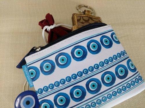 他の写真3: 【お客様の声あり♪】(ギリシャ雑貨)マティ(イーブルアイ・ナザールボンジュウ)ウォレット(財布・小銭入れ)