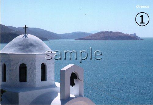 他の写真2: \ラスト1点です!/(ギリシャ雑貨)ギリシャの風景『クレタ島 エラフォニシ』ポストカード(絵はがき)4枚セット