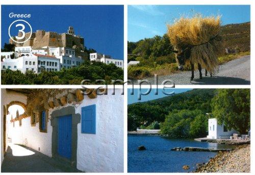 他の写真2: 【ギリシャ神話】(ギリシャ雑貨)ギリシャの風景『ヘファイストス神殿』ポストカード(絵はがき)8枚セット
