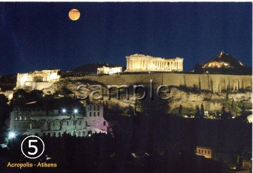 他の写真3: 【ギリシャ神話】(ギリシャ雑貨)ギリシャフォト『ギリシャの4つの風景 パルテノン神殿』ポストカード(絵はがき)7枚セット