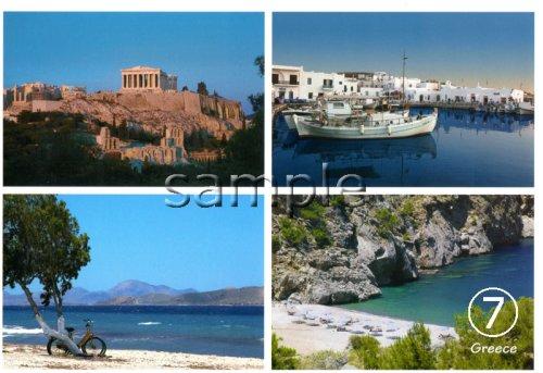 他の写真1: 【ギリシャ神話】(ギリシャ雑貨)ギリシャフォト『ギリシャの4つの風景 パルテノン神殿』ポストカード(絵はがき)7枚セット